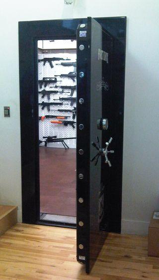 Gun door